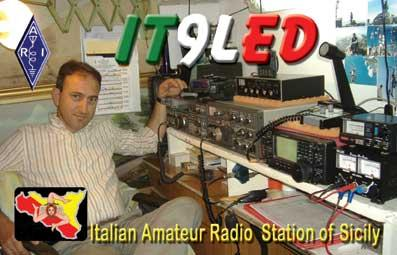 QSL image for IT9LED