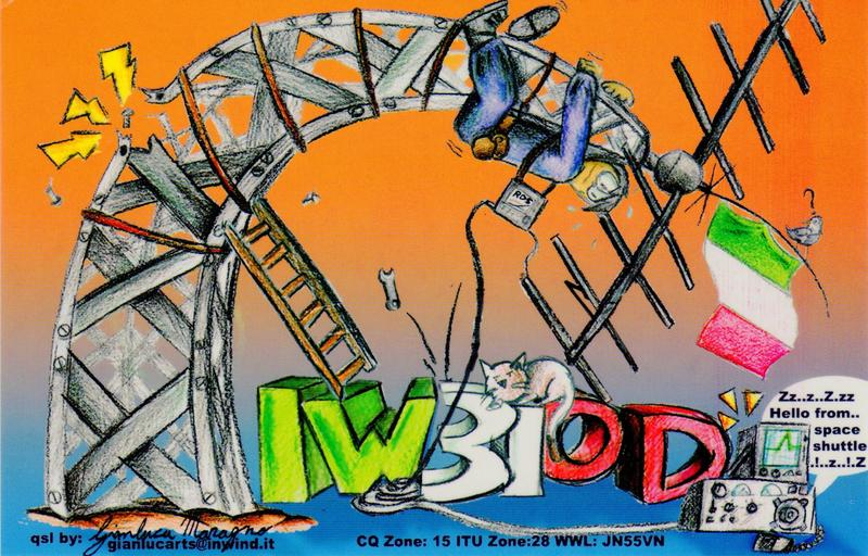 QSL image for IW3IOD