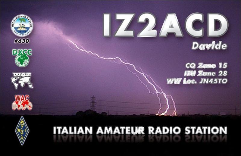 QSL image for IZ2ACD