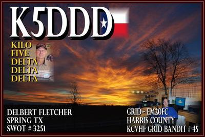 QSL image for K5DDD
