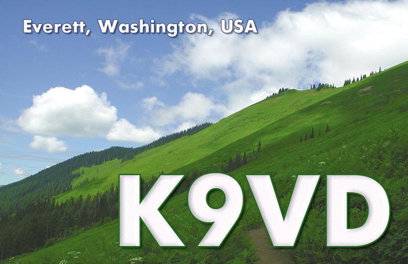 QSL image for K9VD