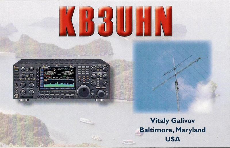 QSL image for KB3WD