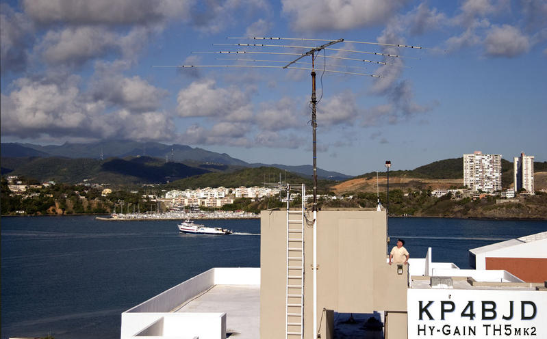 Antenna at KP4BJD