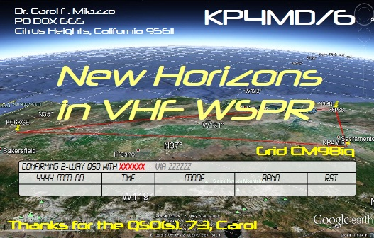 QSL image for KP4MD