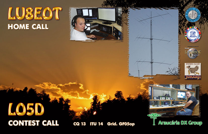 QSL image for LO5D