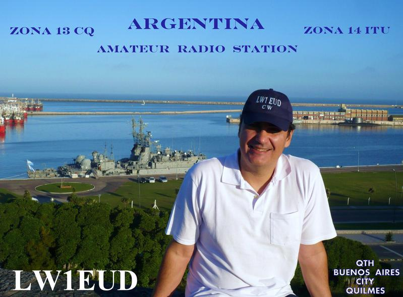 QSL image for LW1EUD