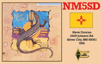 QSL image for NM5SD