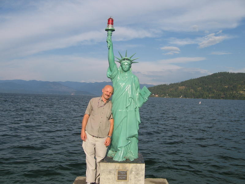 IDAHO STATUE OF LIBERTY