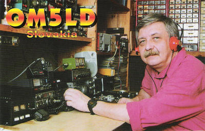 QSL image for OM5LD