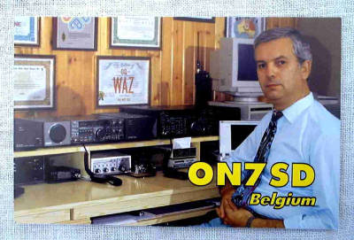 QSL image for ON7SD