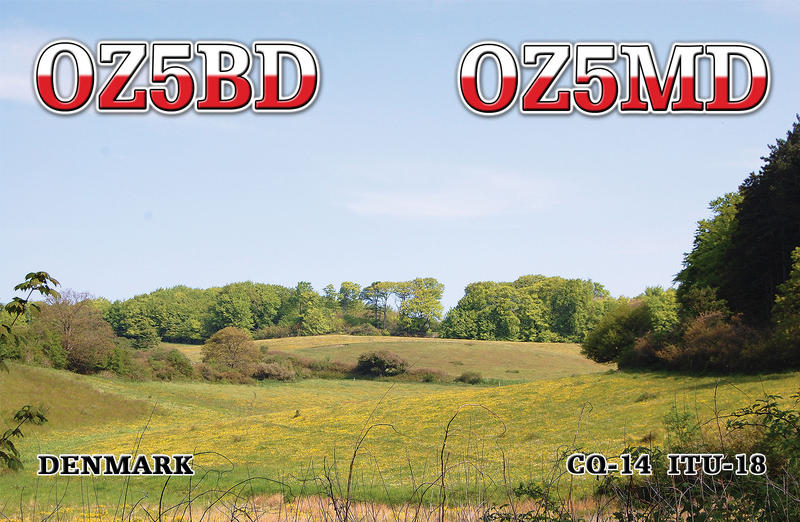 QSL image for OZ5BD