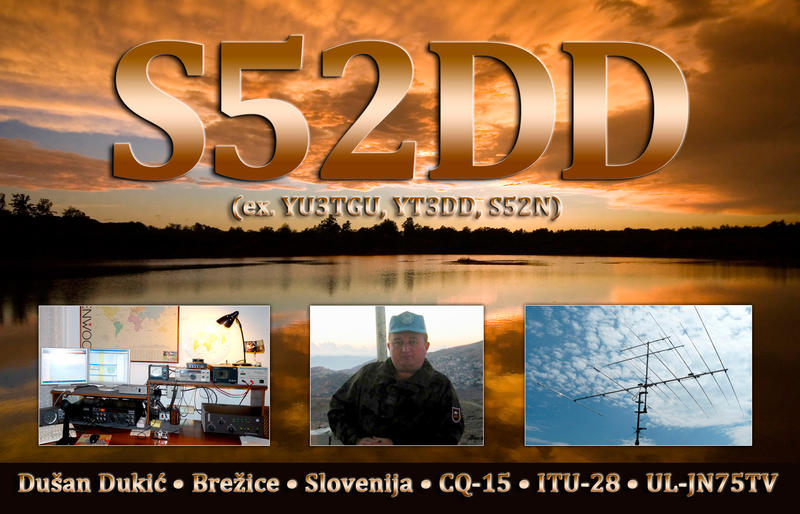 QSL image for S52DD