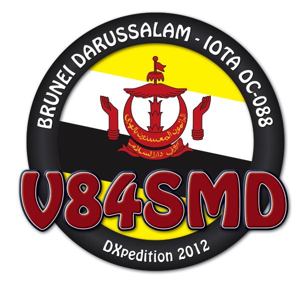 QSL image for V84SMD