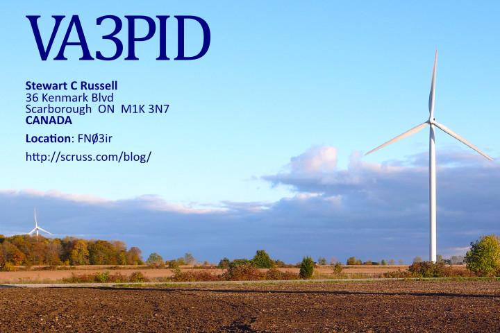 QSL image for VA3PID