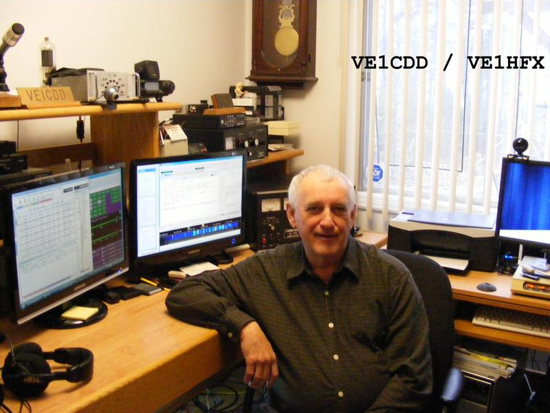 QSL image for VE1CDD
