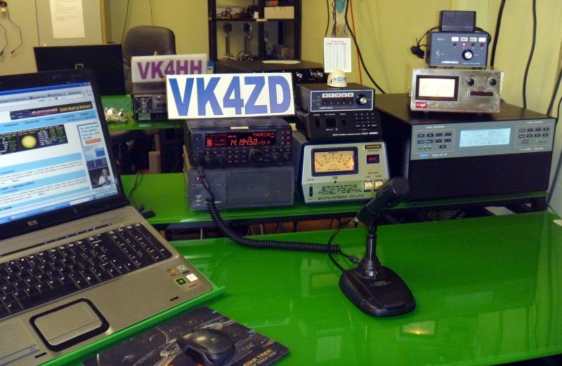 QSL image for VK4ZD