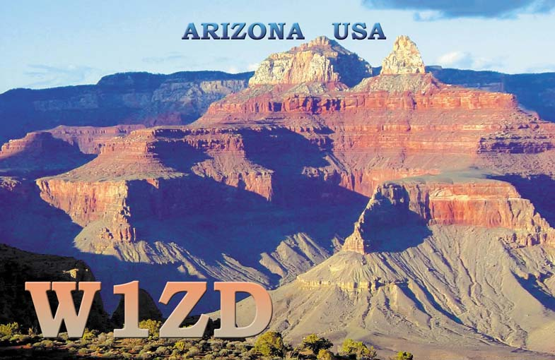 QSL image for W1ZD