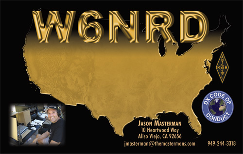 QSL image for W6NRD