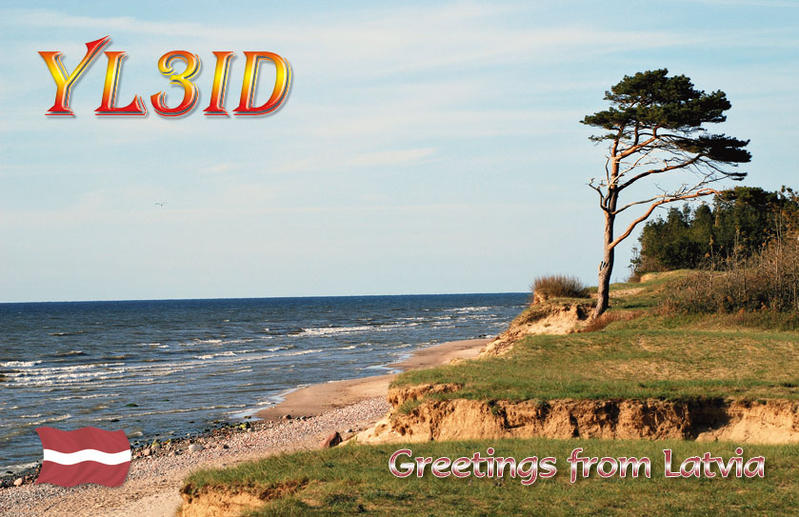 QSL image for YL3ID