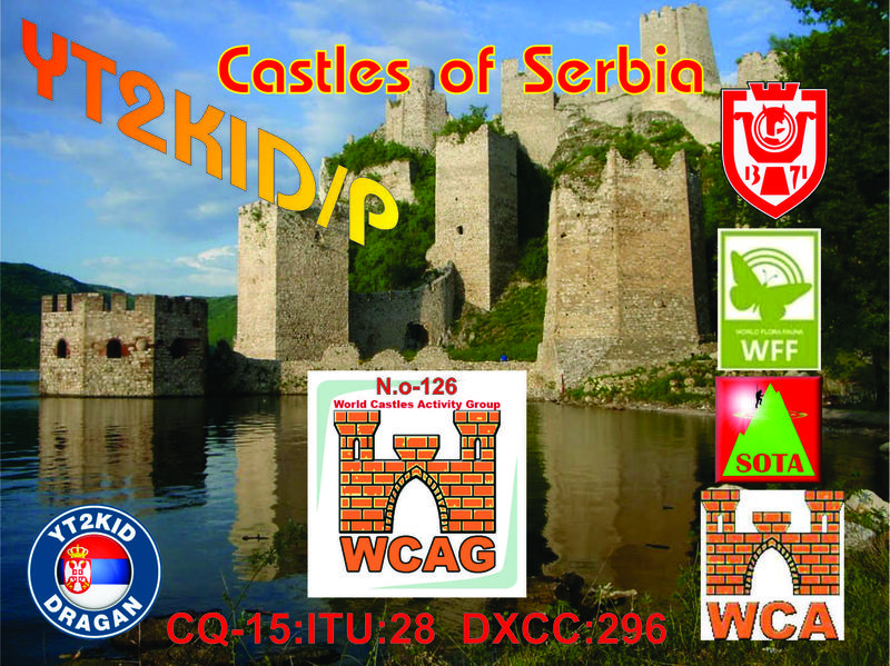QSL image for YT2KID