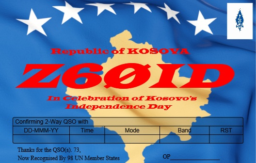 QSL image for Z60ID