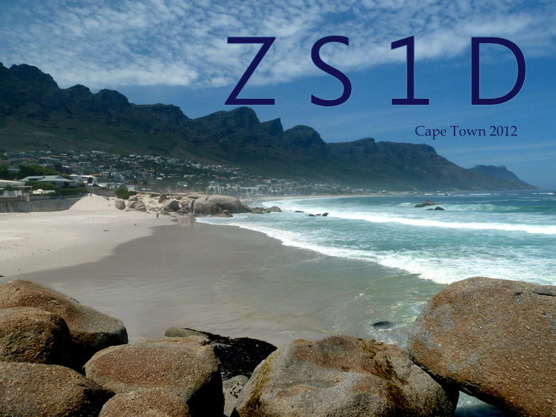 QSL image for ZS1D