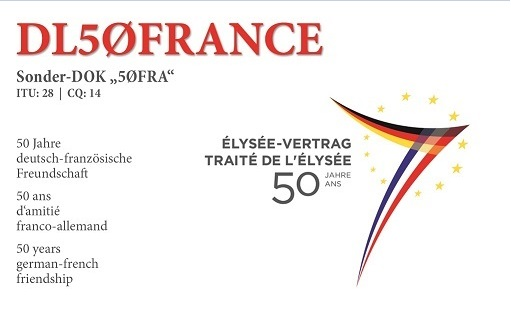 QSL image for DL50FRANCE