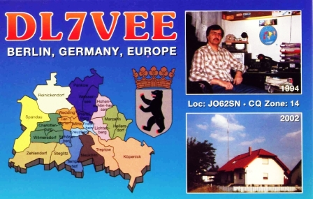 QSL image for DL7VEE