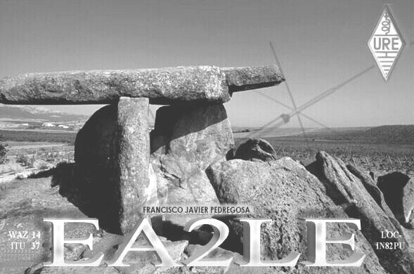 QSL image for EA2LE