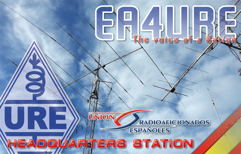 QSL image for EA4URE
