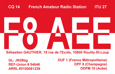 QSL image for F8AEE