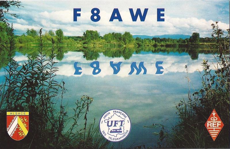 QSL image for F8AWE