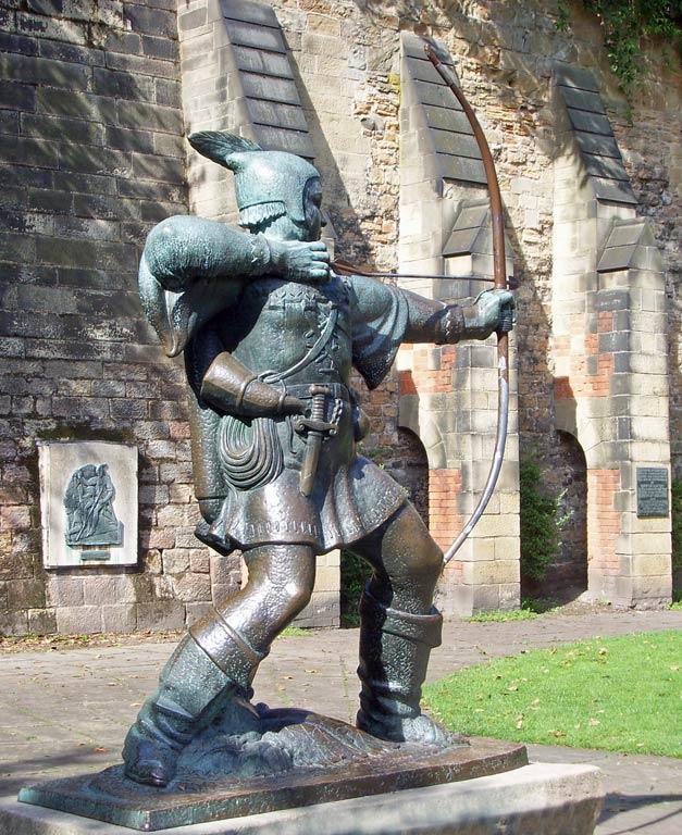 Statue of Robin Hood