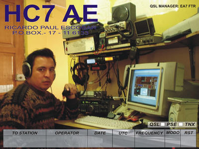 QSL image for HC7AE