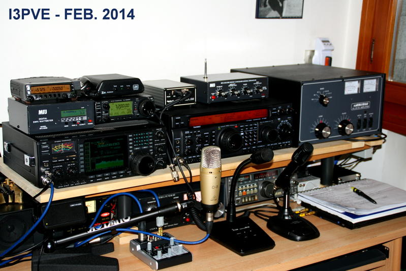 QSL image for I3PVE
