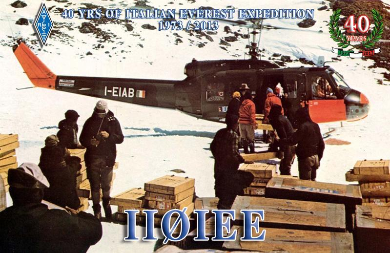 QSL image for II0IEE