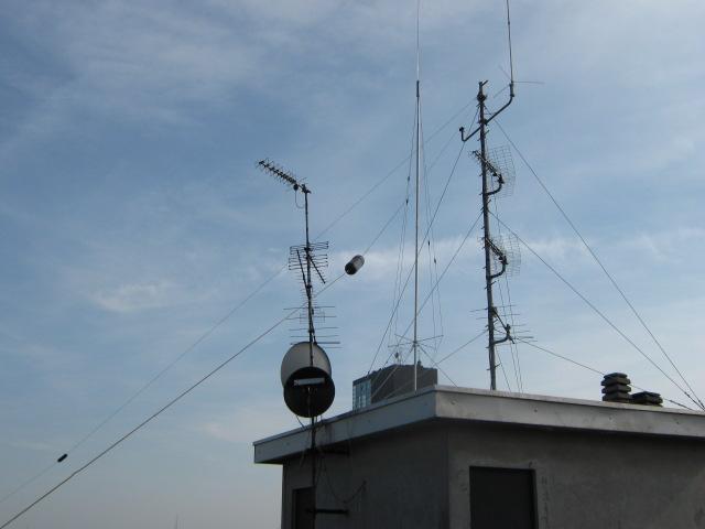 Aerial setup