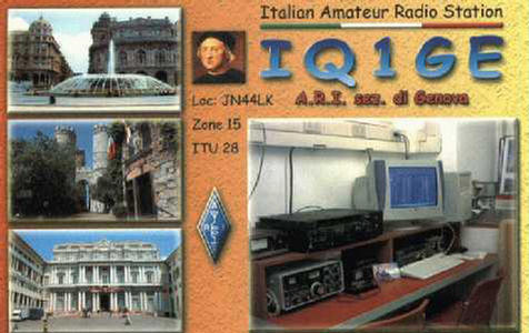 QSL image for IQ1GE