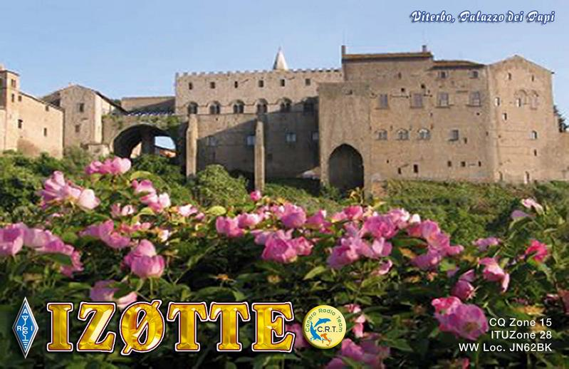 QSL image for IZ0TTE