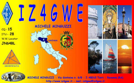 QSL image for IZ4GWE