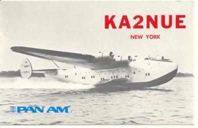 QSL image for KA2NUE