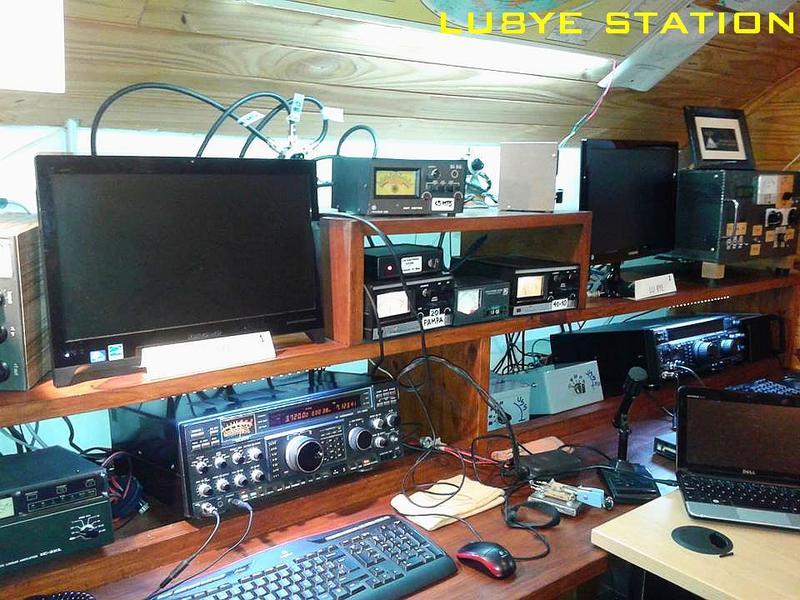 QSL image for LU8YE