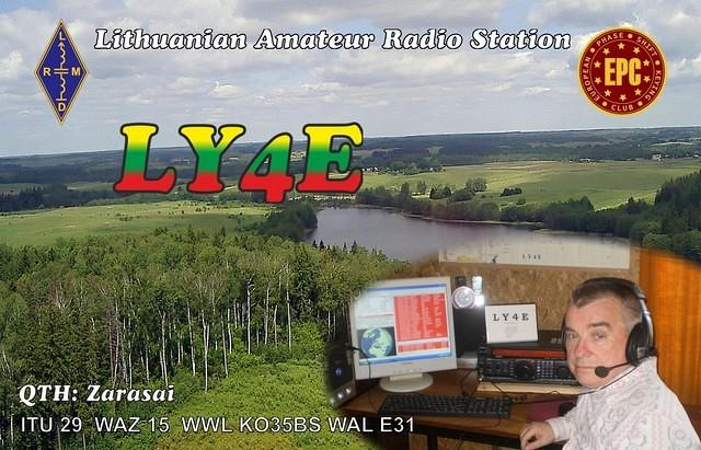 QSL image for LY4E