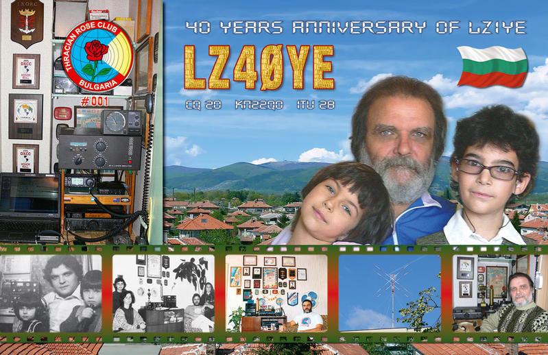 QSL image for LZ40YE