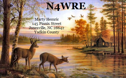 QSL image for N4WRE