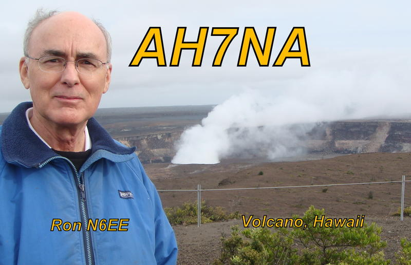Ron at Kilauea Volcano