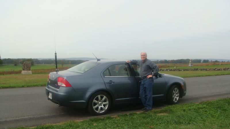 Ron at Gettysburg