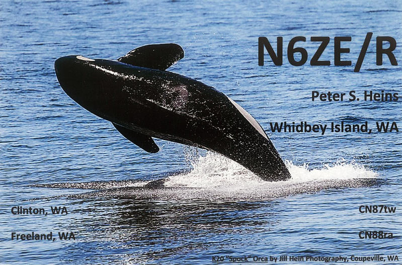 QSL image for N6ZE