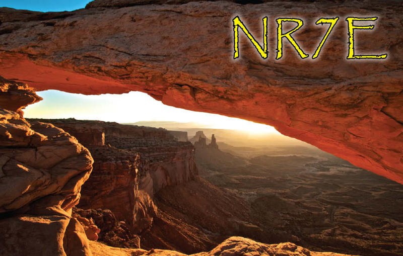QSL image for NR7E