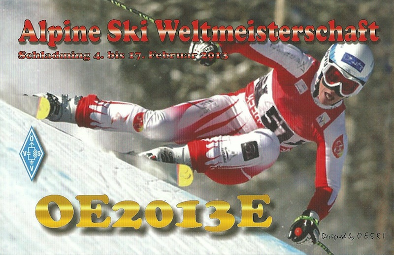 QSL image for OE2013E